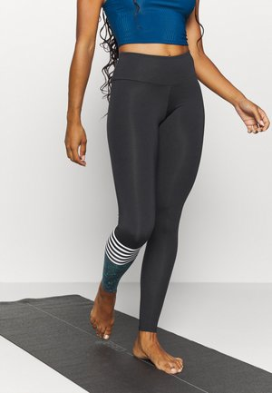 LEGGINGS HAWAII SURF STYLE  - Legginsy - billiard