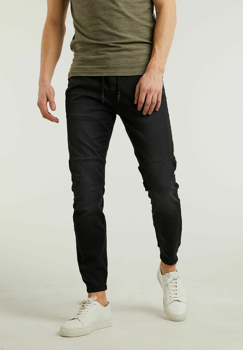 CHASIN' - Jeans Tapered Fit - black