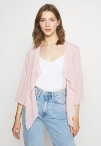 Vila - VIALLI 3/4 COVER UP - Blazer - pale mauve - 0