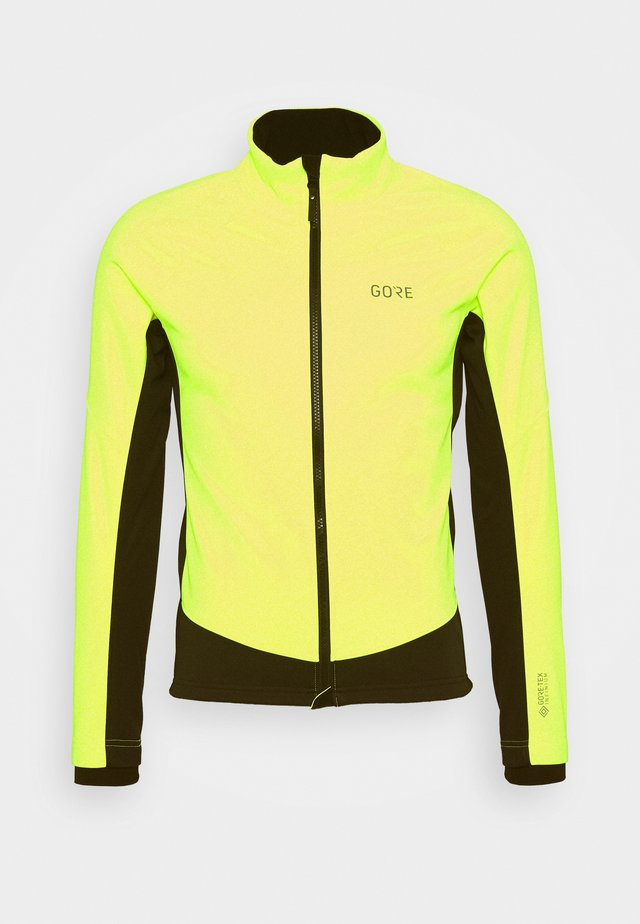 TEX INFINIUM™ THERMO - Kurtka Softshell - neon yellow/black
