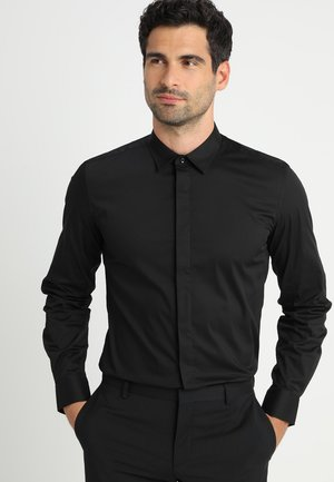 SLIM FIT  - Formal shirt - nero