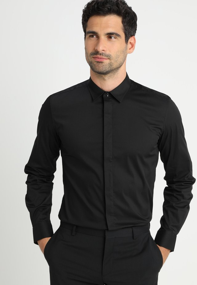 SLIM FIT  - Camicia elegante - nero