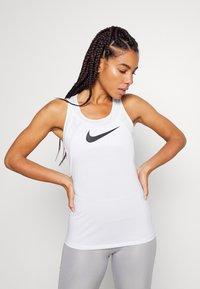 Nike Performance - DRY BALANCE - T-shirt sportiva - white/black - 0