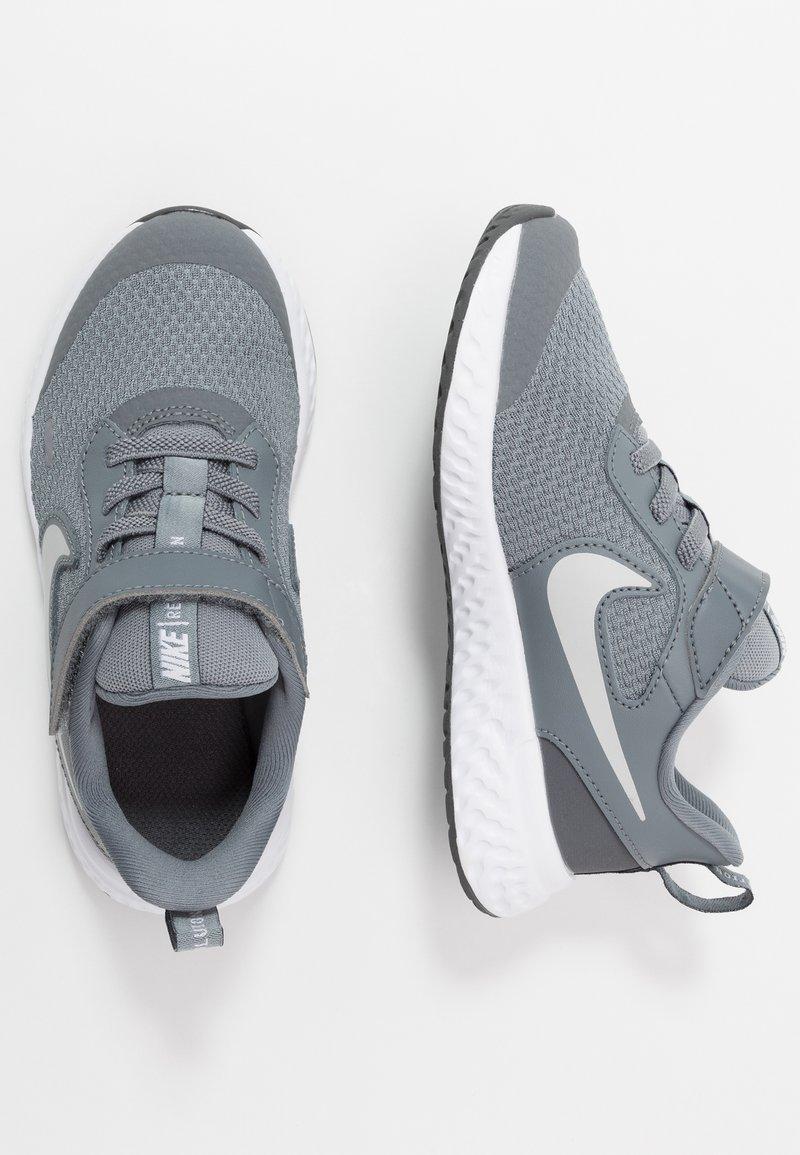 Nike Performance - REVOLUTION 5 UNISEX - Neutral running shoes - cool grey/pure platinum/dark grey