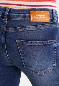 Mos Mosh - SUMNER STEP BLUE - Džíny Slim Fit - blue denim - 3