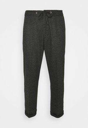 TRAVIN - Kalhoty - dark grey melange