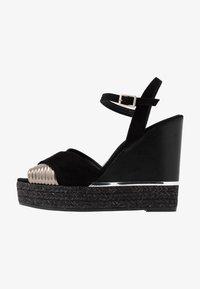 Kanna - NICOLE - High heeled sandals - black - 1