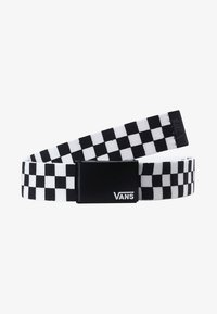 Vans - DEPPSTER BELT - Pasek - black/white - 5