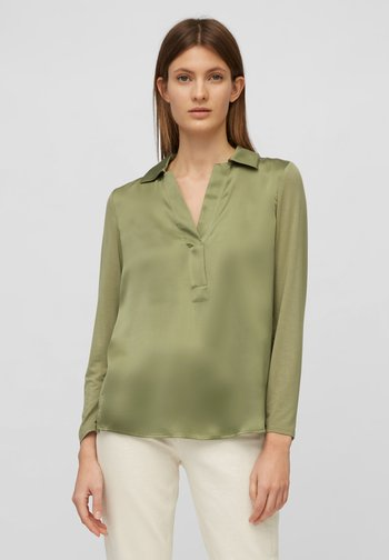 Blouse - dried sage
