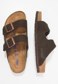 Birkenstock - ARIZONA SOFT FOOTBED NARROW FIT - Pantofole - mocca - 1