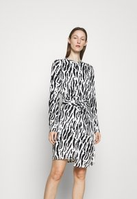 Bruuns Bazaar - BELL BINA DRESS - Day dress - black/white - 0