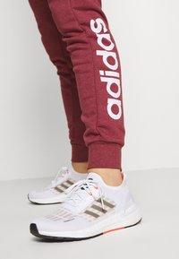adidas Performance - PANT - Spodnie treningowe - legred/white - 3