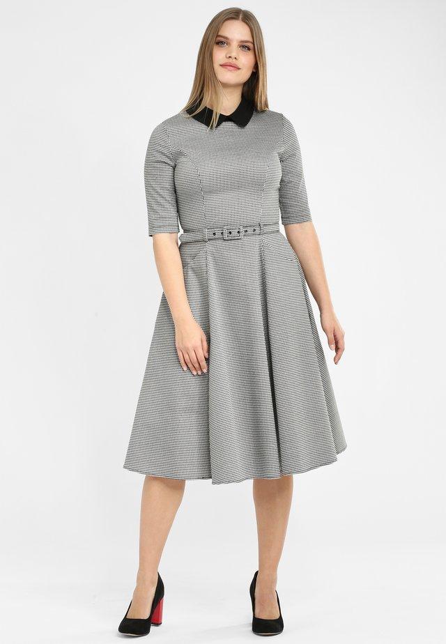 WINONA - Day dress - black/ white