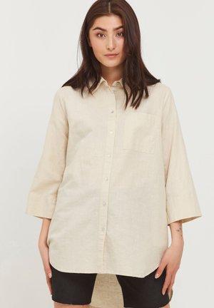 Skjortebluser - mottled beige