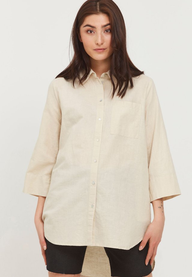 Camicia - mottled beige