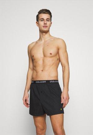 DYLAN 2 PACK - Boxer shorts - black