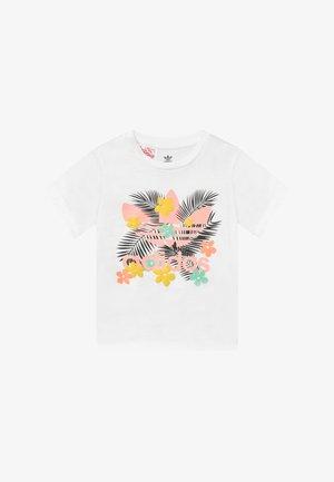 TEE - T-shirt print - white/multi-coloured