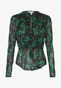 Topshop Tall - ARCH DAISY FLORAL BED - Blouse - green - 4