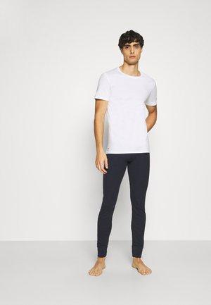 3 PACK - Undershirt - blanc/argent chine/noir