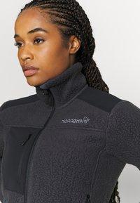 Norrøna - TROLLVEGGEN THERMAL PRO JACKET - Fleece jacket - dark grey - 5