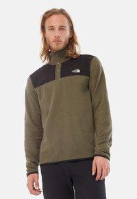 The North Face - GLACIER SNAP - Fleece jumper - green - 0
