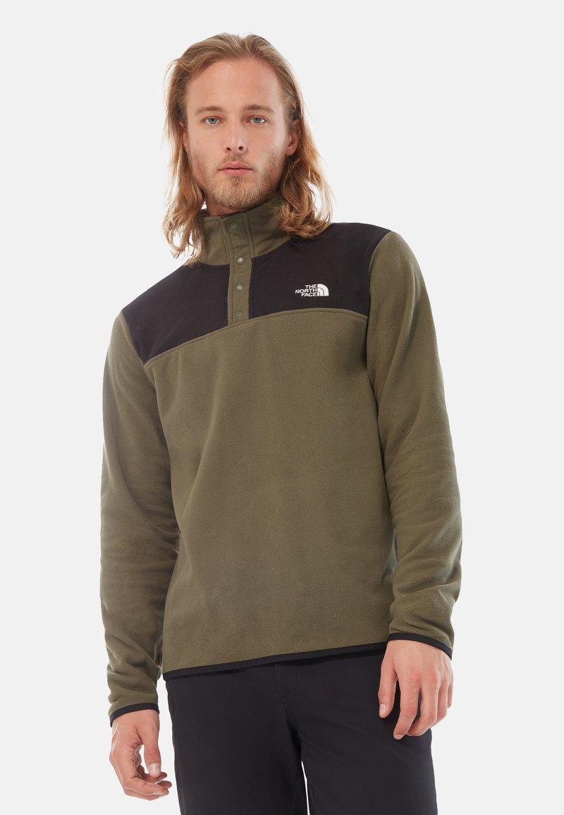 The North Face - GLACIER SNAP - Fleece jumper - green