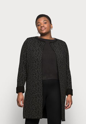 LEOPARD COATIGAN - Cardigan - multi