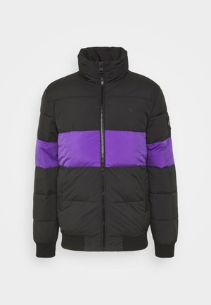 OUTLINE LOGO JACKET - Giacca invernale - gentian violet