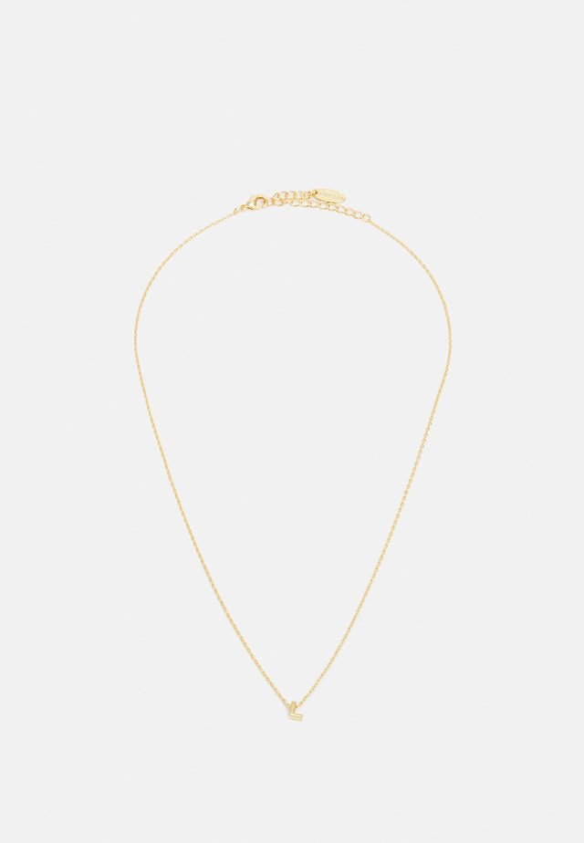 INITIAL GIFTBOX - Ketting - pale gold-coloured