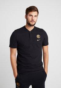 Nike Performance - INTER MAILAND MODERN - T-shirts print - black/truly gold - 0