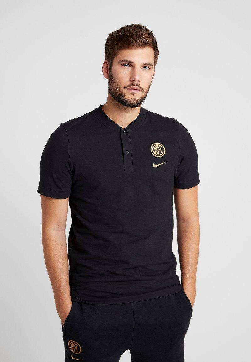 Nike Performance - INTER MAILAND MODERN - T-shirts print - black/truly gold