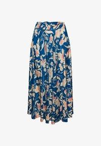 Esprit - A-snit nederdel/ A-formede nederdele - bright blue - 4