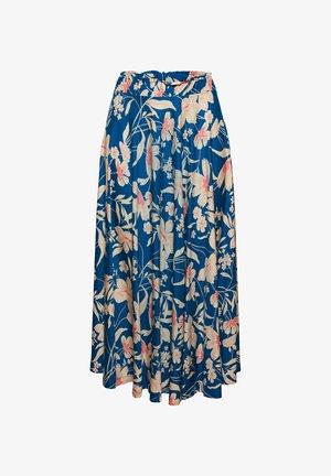 A-line skirt - bright blue