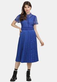 myMo ROCKS - KLEID - Cocktail dress / Party dress - blue - 1