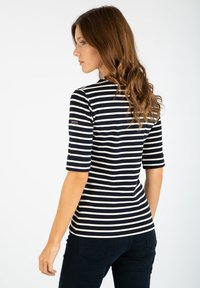 Armor lux - CANCALE MARINIÈRE - Long sleeved top - rich navy nature - 1