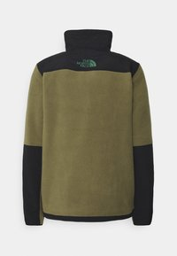 The North Face - STEEP TECH HALF UNISEX - Sweat polaire - burnt olive green/evergreen/black - 1