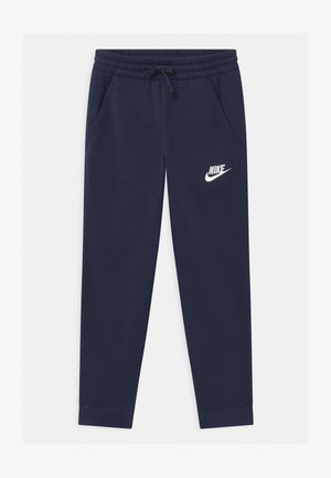 PLUS CLUB - Tracksuit bottoms - midnight navy