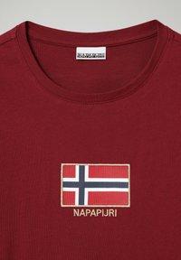 Napapijri - SHEA LS - Long sleeved top - vint amaranth - 2