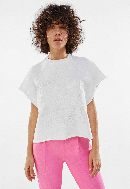 Damen MIT STICKEREI - T-Shirt basic