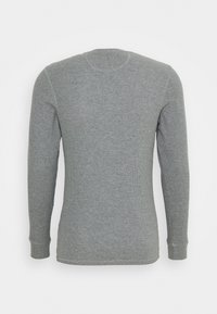 Jack & Jones - JACHENRIK HENLEY - Pyžamový top - grey melange - 6