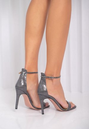 CALDA - High heeled sandals - grau