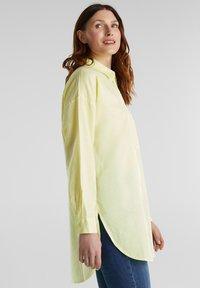Esprit - Button-down blouse - lime yellow - 3