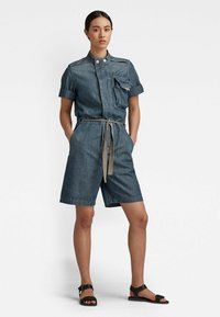 G-Star - WORKWEAR - Jumpsuit - antic faded aegean blue painted - 0