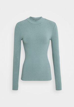 BRANDI HIGH NECK LONG SLEEVE - Bluzka z długim rękawem - burnt sage