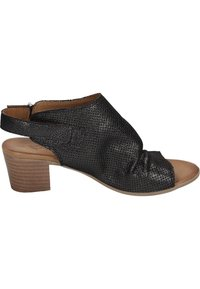 Piazza - Ankle cuff sandals - black - 11