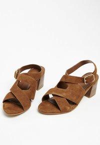 White Sun - MADINA  - Sandals - camel - 3