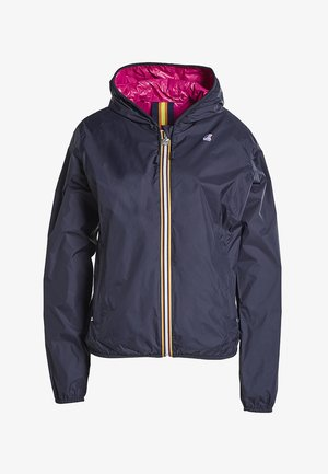 Summer jacket - blue-d-fuchsia