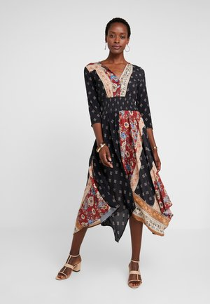 GELIA - Day dress - cobre