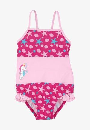 BADEANZUG SCHWIMMANZUG - Swimsuit - magenta