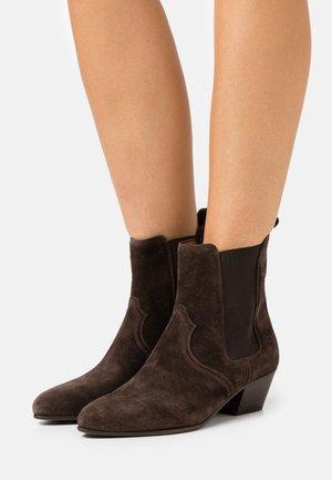 ANISE - Kovbojské/motorkářské boty - dark brown